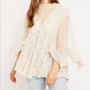 Hard Candy Free People Lace Top